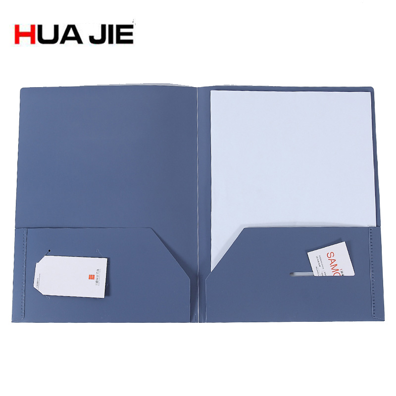 5pcs/lot Durable 3 Hole Punch 2 Pocket Report Cover