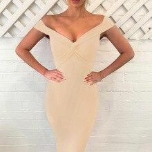 JSMY 2019 New Summer Fashion Women Deep V Slim Banquet Dress Pack Hip Party