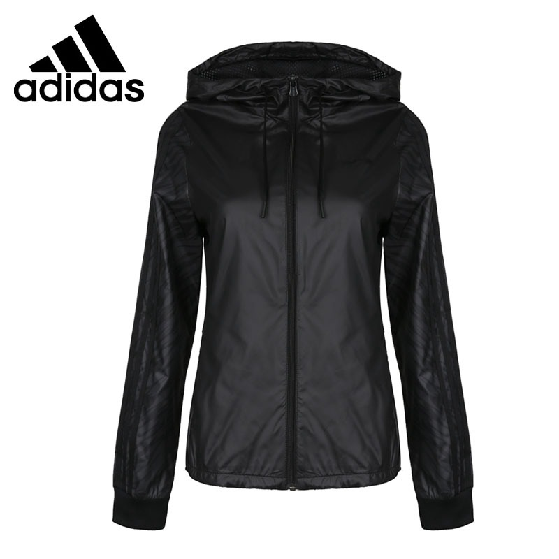 Оригинальный Новое поступление 2018 Adidas NEO Label WB ANML Женская куртка с капюшоном Спортивная