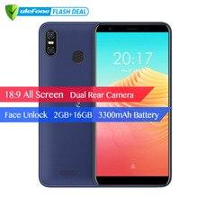 Ulefone S9 Pro 5,5 дюймов HD + мобильного телефона Android 8,1 MTK6739 4 ядра 2 ГБ Оперативная память 16 ГБ Встроенная память 13MP + 5MP двойной камеры заднего мобильный телефон 4G