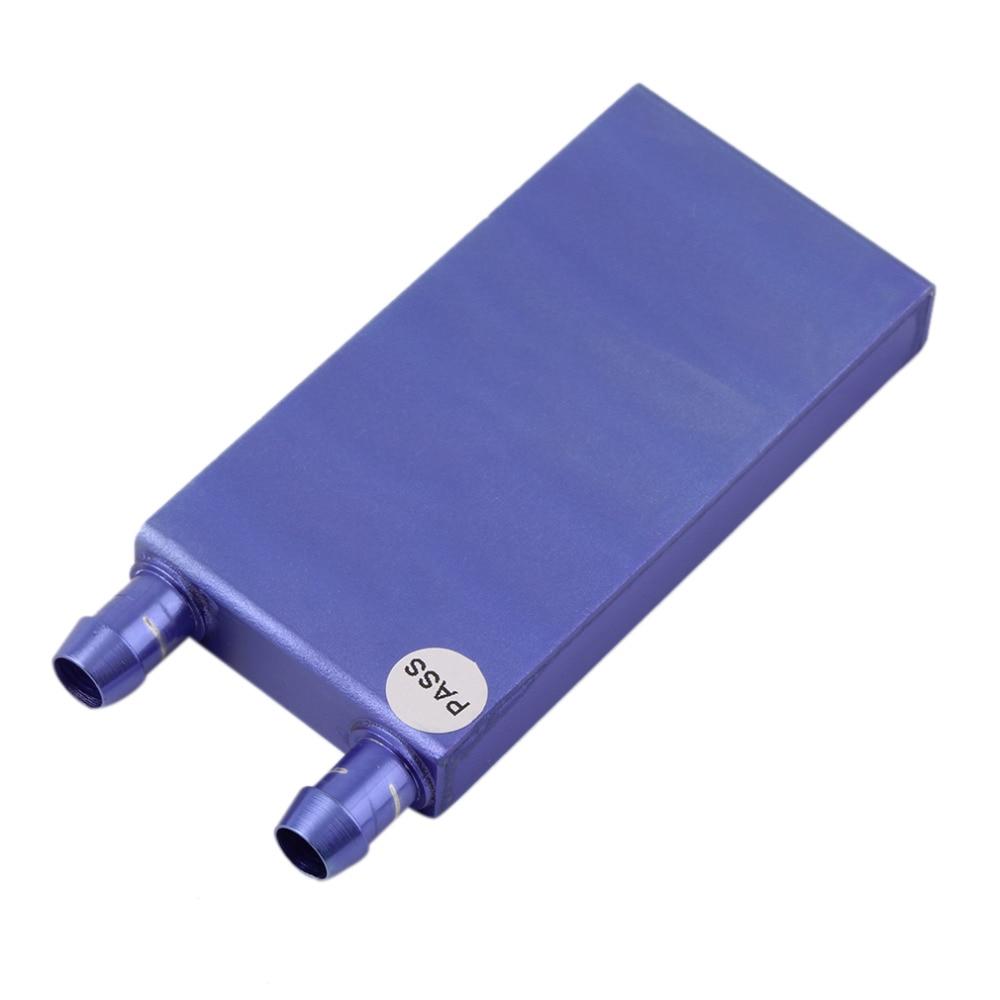 40*80*12mm Aluminium Water Cooling Heatsink Block Liquid Cooler For CPU GPU Wholesale Drop Shipping for asus u46e heatsink cooling fan cooler