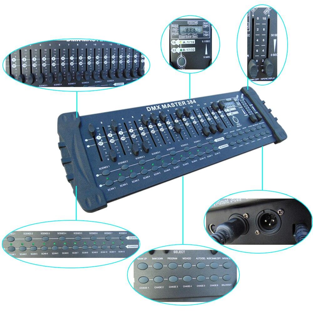 Norme internationale 512 contrôleur dmx 512 contrôleur de lumière principale mobile 10 pièces/lot - 5