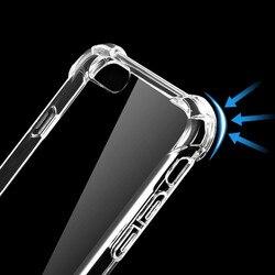 На Алиэкспресс купить чехол для смартфона anti-falling shell case for iphone x 8 6s 6 plus case for iphone 5 7 plus transparent case for iphone 5s se transparent case