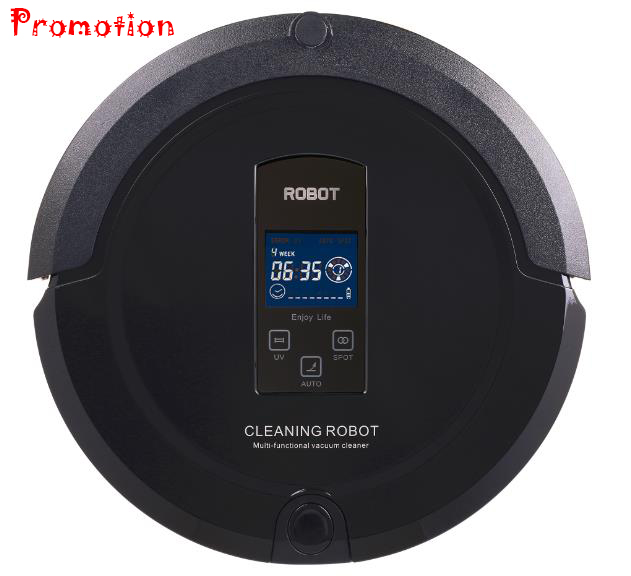 (Ship from China,EU or RU)Robot Vacume cleaner (Sweep,Vacuum,Mop,Sterilize)LCD Touch Screen,Schedule,Auto Charge eu ru ship