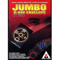 Jumbo X Ray Envelope Paper Mache Mask Magic Tricks Fire Props Dice Magic Comedy