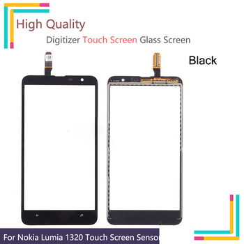 10Pcs/lot For Nokia Lumia 1320 N1320 RM-994 RM-995 RM-996 Touch Screen Touch Panel Sensor Digitizer Front Glass Touchscreen