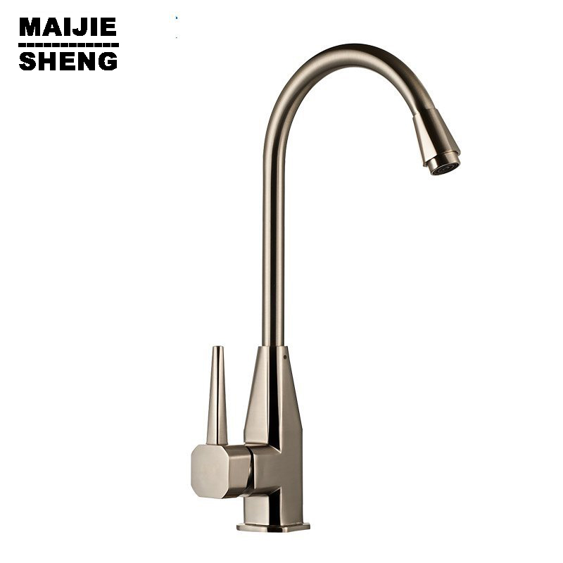 Torneiras Faucets Genuine Bathroom Sink Faucet Can Be Rotated Brushed Nickel Kitchen Hot And Cold Special