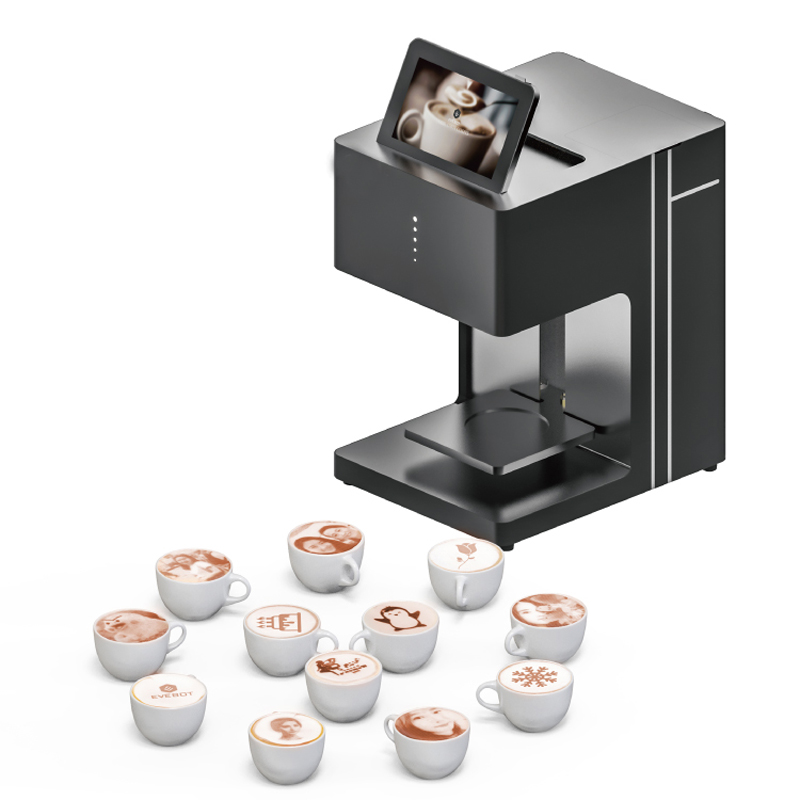new upgrade edible Coffee printer Edible ink printer Art Beverages Food Biscuits cake coffee selfie coffee with WIFI connection coffee printer food printer inkjet printer selfie coffee printer full automatic latte coffee printe wifi function