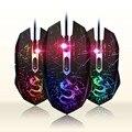 DTIME Jogo Com Fio Do Mouse Óptico USB Gaming Mouse Gamer Mice Mause para Computador PC Laptop Sangrenta CS Ir X7 deathadder 3200 DPI Luz