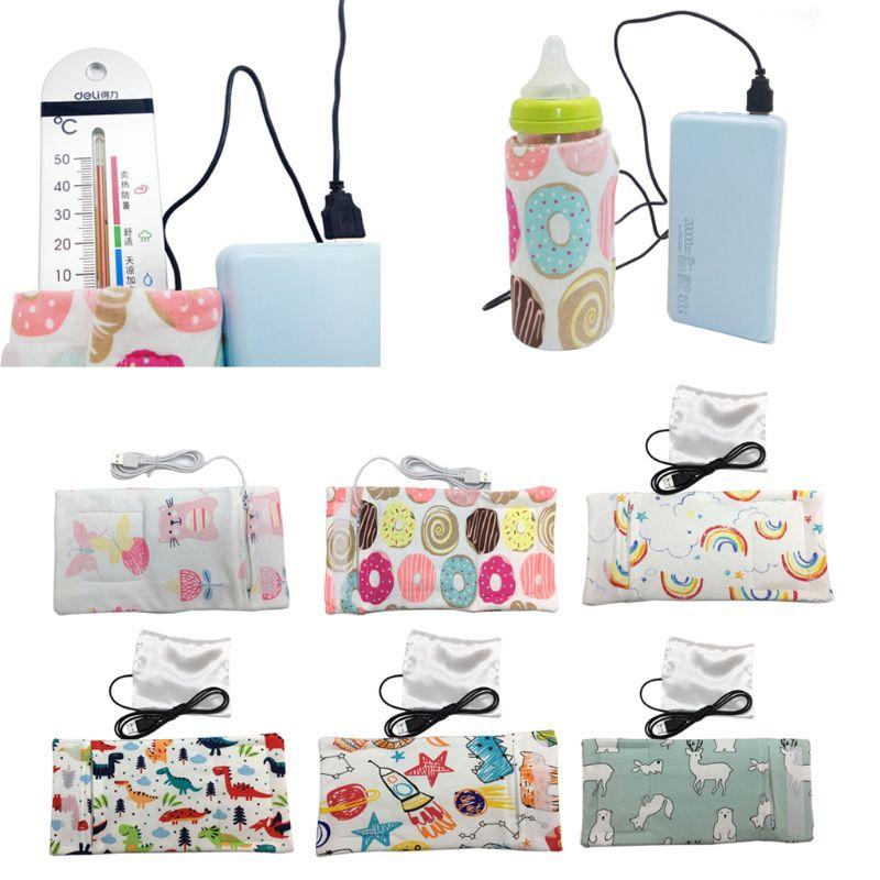 Travel Stroller USB Milk Water Warmer Insulated Bag Baby Nursing Bottle Heater 6 ColorsTravel Stroller USB Milk Water Warmer Insulated Bag Baby Nursing Bottle Heater 6 Colors