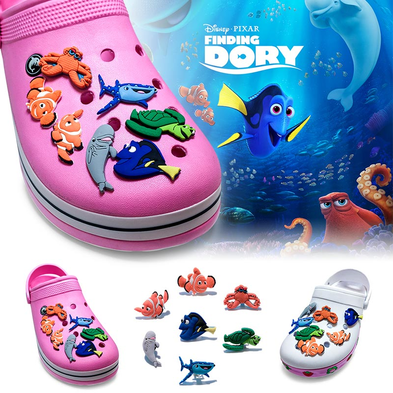 Free shipping new 35pcs Finding Nemo pvc shoe charms shoe accessories shoe buckle for croc jibz for wristbands bands kids gift free shipping new 100pcs avengers pvc shoe charms shoe accessories shoe buckle for wristbands bands
