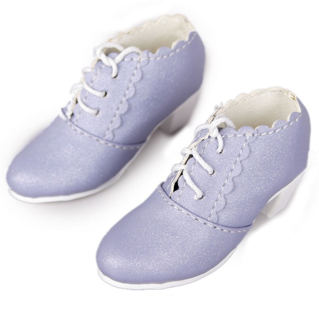 [wamami]1/3 Purple Medium-heeled Shoes For SD AOD DOD BJD Doll Dollfie