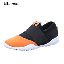 MLANXEUE 2016 Nouveau Hommes Toile Chaussures Mode Casual Confortable Hommes Chaussures de Marche Pour Hommes Marque de Style Chaussures XZ27