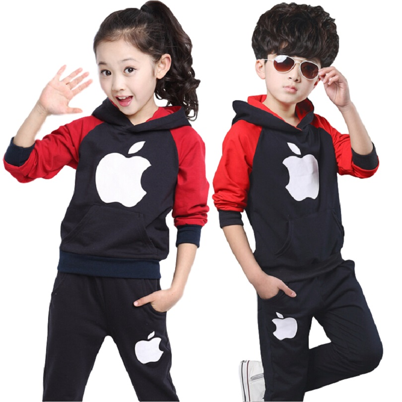 New Boys font b Girls b font Sport Suit Children Clothing Set kids boys font b gadis baju olahraga promotion shop for promotional gadis baju,Baju Anak Anak Olahraga