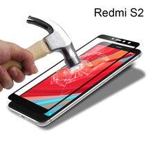 Black/White Protective Glass Xiaomi Redmi S2 6 Pro Screen Protector 9H Full Cover Tempered 6A Note