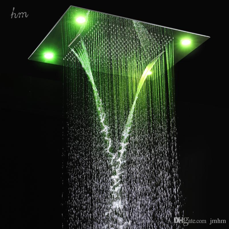 Popular Led Waterfall Shower Head Buy Cheap Led Waterfall