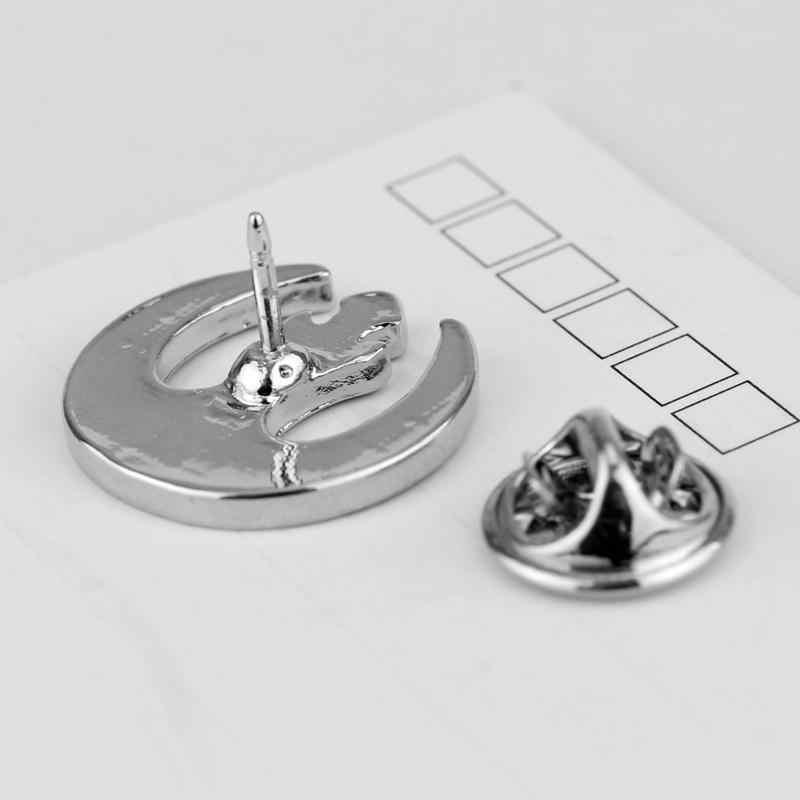 Yeni Varış Yıldız Savaşları Logo Broş Pin erkek Hediye için Takı Film Yıldız Savaşları Kırmızı/Siyah Emaye Rozeti takılar Düğme Broş