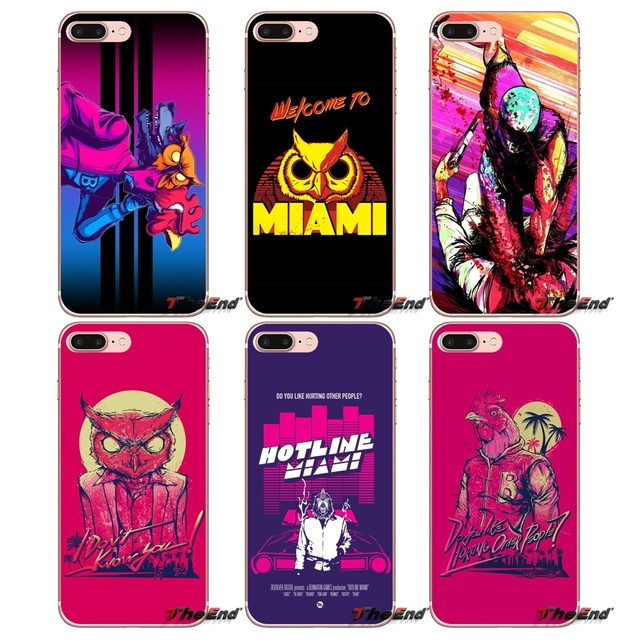 c4938c25dd1f63 For iPhone X 4 4S 5 5S 5C SE 6 6S 7 8 Plus Samsung Galaxy J1 J3 J5 J7 A3 A5  2016 2017 Hotline Miami 2 Wrong Number on Steam Owl