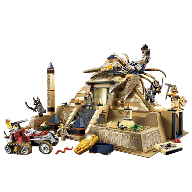 media for education in egypt Bela  IN STOCK Lepin 31001 822Pcs Egypt Pharaoh Series The Scorpion Pyramid Educational Building Blocks Bricks Toys Model Gift