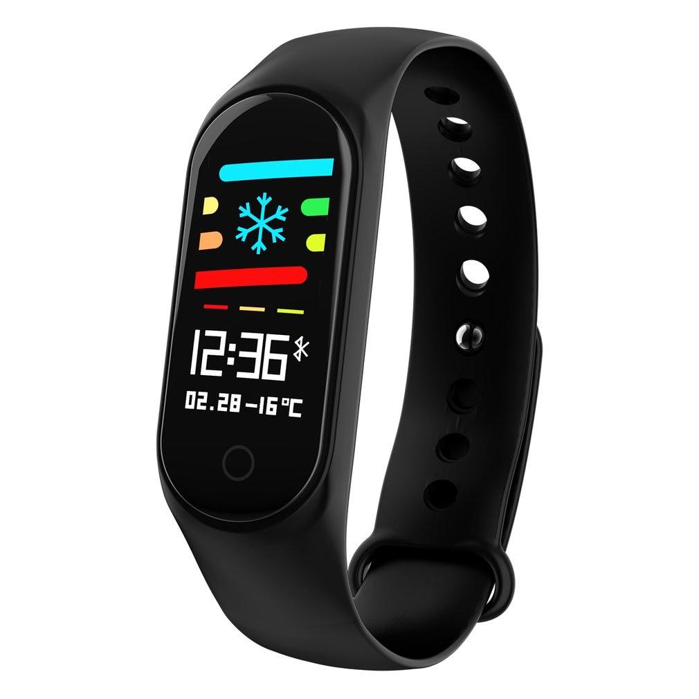 Fashionable Smart Bracelet Bluetooth Smart Watch Waterproof M3S Smartwatch Lightweight Heart Rate Wrist Watch Outdoor