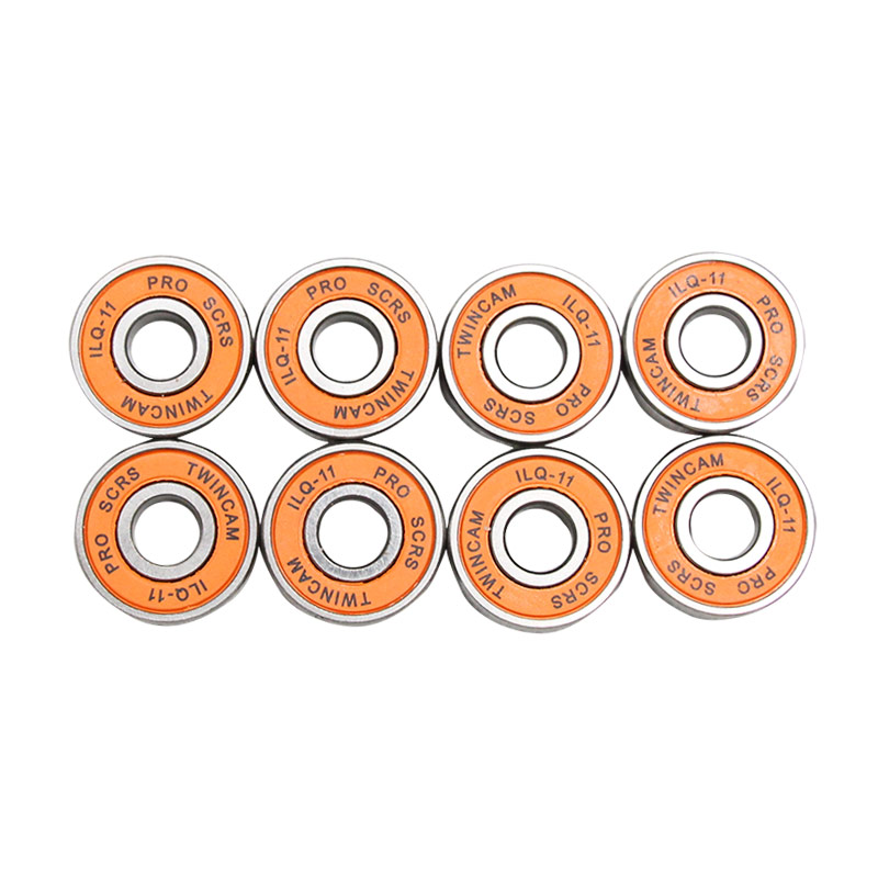 Free Shipping ABEC-11 Skateboard Bearings Carbon Steel Long Board Bearings Men And Women Double Rocker Skateboard Bearings