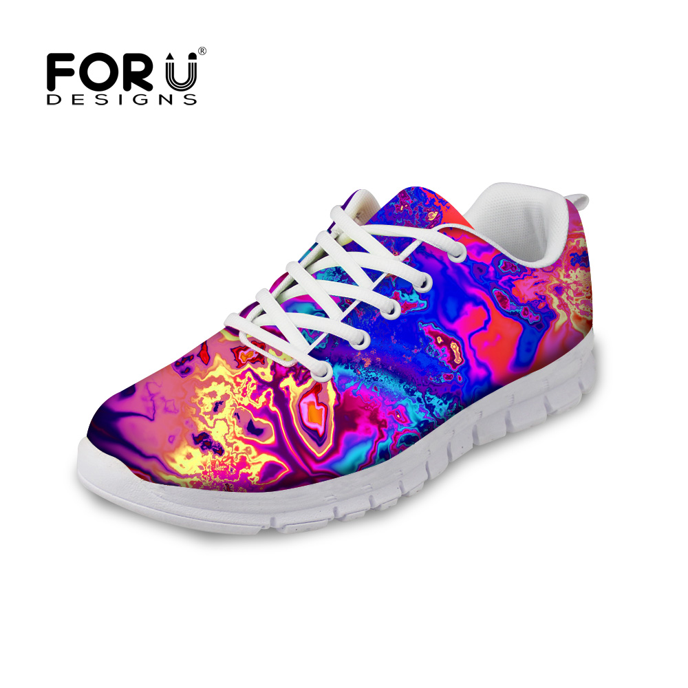 FORUDESIGNS Fashion Women Casual Shoes Flats Woman Autumn Breathable Comfortable Leisure Shoes for Ladies Flat Shoes Zapatos forudesigns sweet donuts pattern women autumn casual flat shoe fashion pink female breathable comfortable shoes for ladies flats