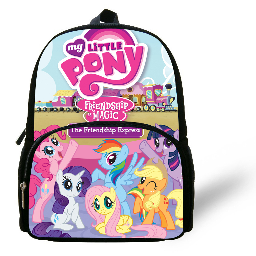 Aliexpress.com : Buy 12inch mochila my little pony School Bag kids ...