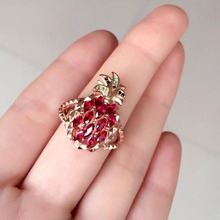Qi Xuan_Natural Sapphire Simple And Generous Ring_Fashion Ring with S925 Sliver Real _Manufacturer Directly Sales 2017 real collares qi xuan