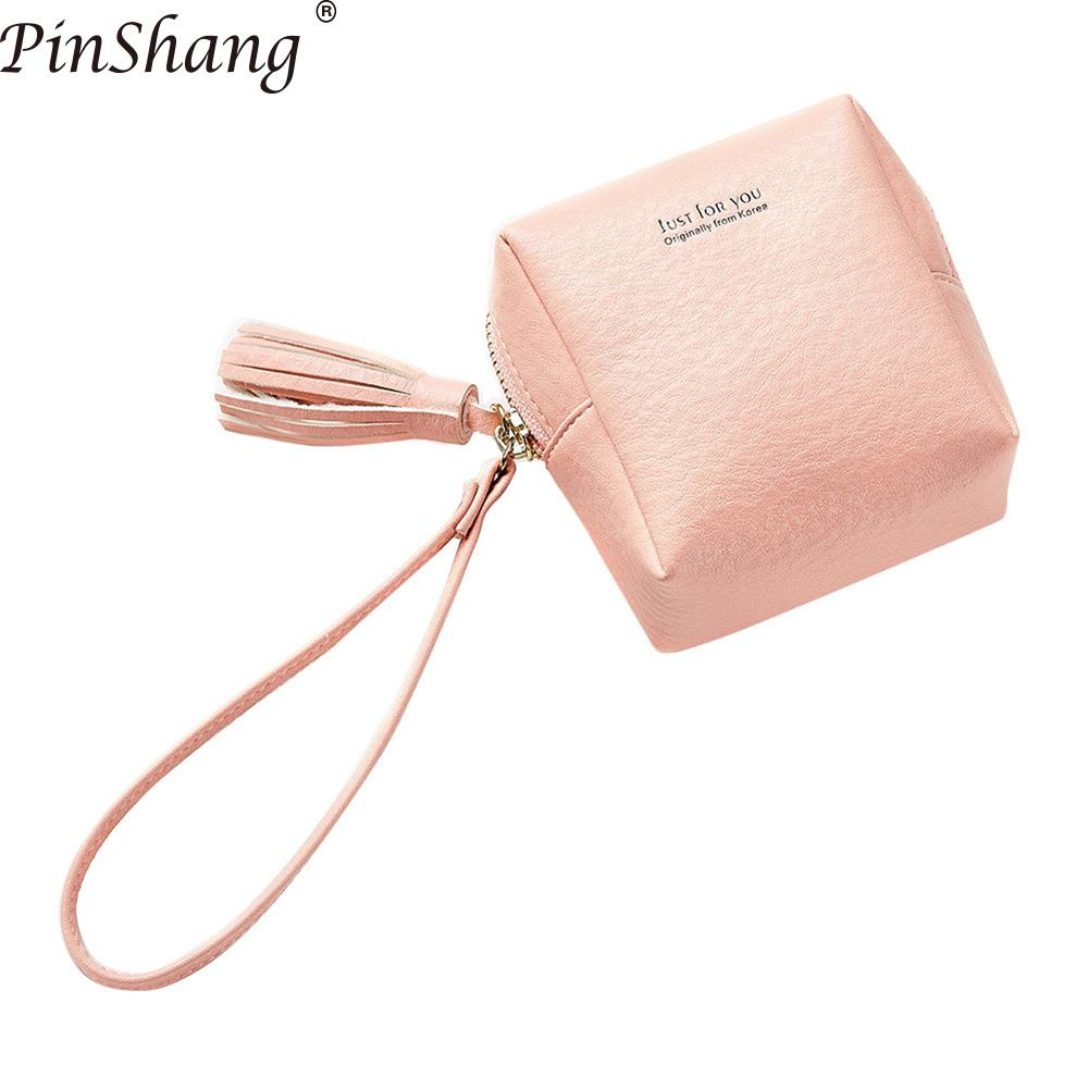 PinShang Cute Wallets Girl Student Purse Steamed Buns Shape Wallet PU Leather Coin Purse Mini Tassels Pockets Small Bag ZK40 ...