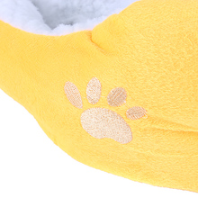 Durable L Waterproof Warm Soft Pet Dog Cat Bed House Basket Nest Mat – Yellow