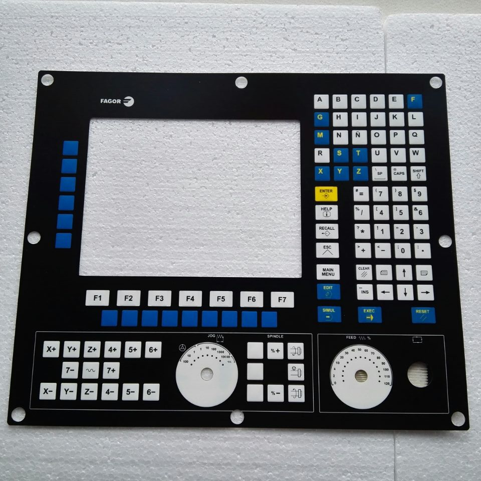 FAGOR 8055 8055i Membrane Keypad For CNC system repair, Have in stock 8055i cnc 8055i a m fagor key button membrane for cnc system fast shipping
