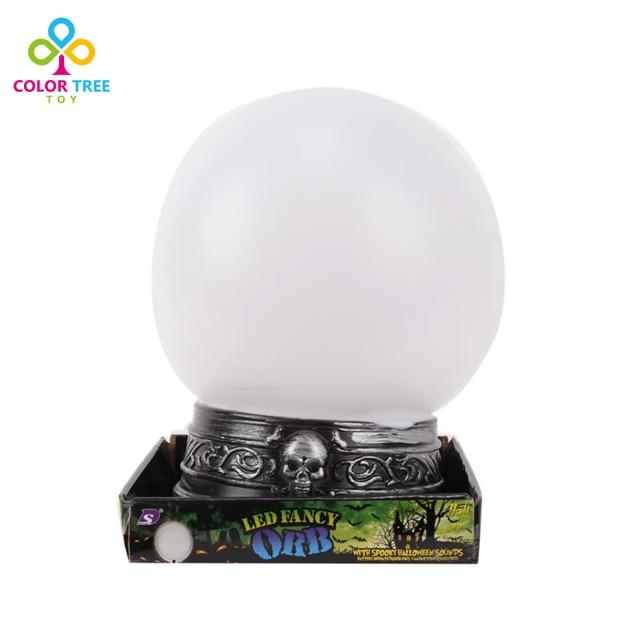 Фантазии LED Магический Шар Со Звуком Дети Творческие Игрушки На Батарейках Хэллоуин Подарки Для Детей