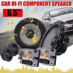 Composants HiFi de voiture 6.5 W | 400 pouces, système de haut-parleurs, 2 voies, 25mm, Tweeter dôme, bobine vocale ASV 1 pouce, pour porte avant de voiture