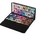 Luxo 128 Cores Shimmer Da Sombra de Maquiagem Profissional Paleta Sombra de Olho Maquiagem Cosméticos Set Kit Com Laço Preto Embalagem