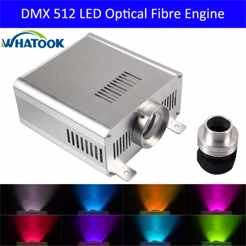 DIY DMX/DMX512 45W RGB LED Fiber Optical satr ceiling light kits Engine Driver for all kinds fiber optics Cable as decoration ...