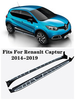 High Quality Aluminum alloy Car Running Boards Side Step Bar Pedals Fits For Renault Captur 2014 2019