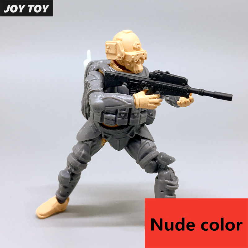 JOY TOY 1:27 figures model kits Chinese Hupeng special battle team Unpainted and unassembled Free shipping SA-008