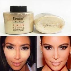 Pulver Banana Glatte Lose Oil control Face Pulver Make-Up Concealer Mineral Finish Pulver Transparent Foundation Korea Kosmetik