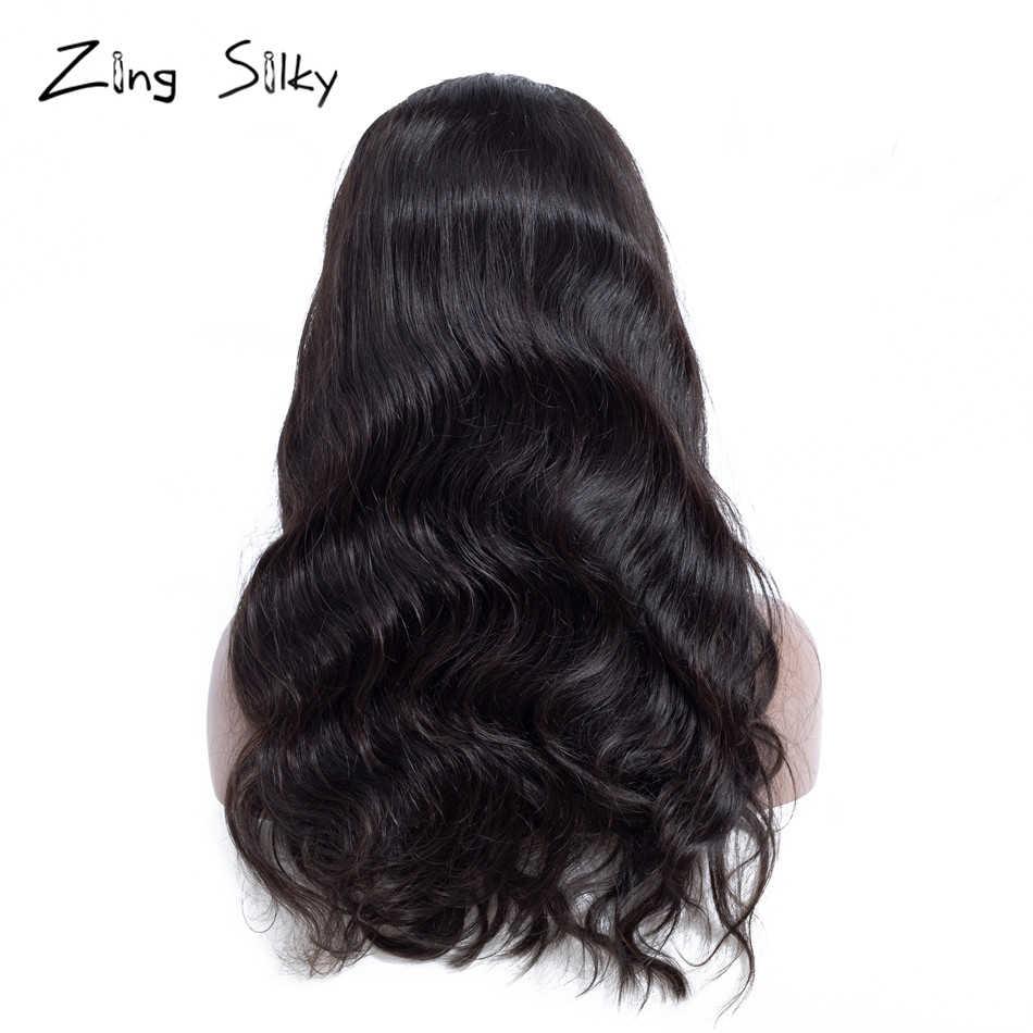 Объемная волна парик 13x4 глубокий часть Синтетические волосы на кружеве человеческих волос парики для чернокожих Для женщин бразильский Волосы remy предварительно с детскими волосами