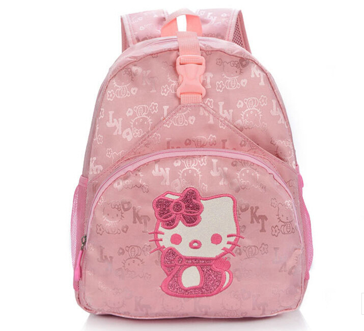 High quality children small school bags child girl backpack cartoon  hellokitty infant school bags for kindergarten kids-in School Bags from  Luggage   Bags ... 24dee08ccc971