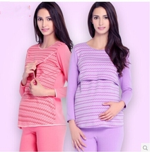 100% Cotton high qualtity women lounge maternity women sleep free shipping