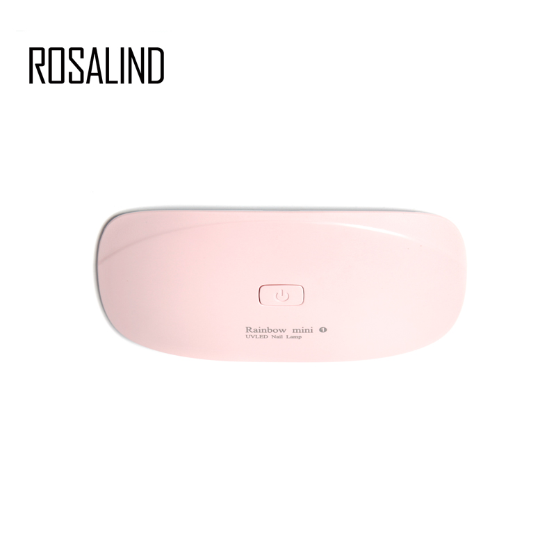 ROSALIND 2 Color MINI UV &LED lamp Nail Dryer For Cure Gel Nail Polish Safe Light lamp for naisl beautyROSALIND 2 Color MINI UV &LED lamp Nail Dryer For Cure Gel Nail Polish Safe Light lamp for naisl beauty