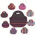 Neoprene lancheira térmica lancheira bolsa de franja bolsa termica almoço sacos saco de isolamento saco térmico para as mulheres tote almoço ALB394F