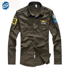 Весенне-осенняя мужская блузка Air Force One Flight с длинными рукавами, Мужская армейская зеленая Военная рубашка для фанатов походов, армейская зеленая тактическая рубашка