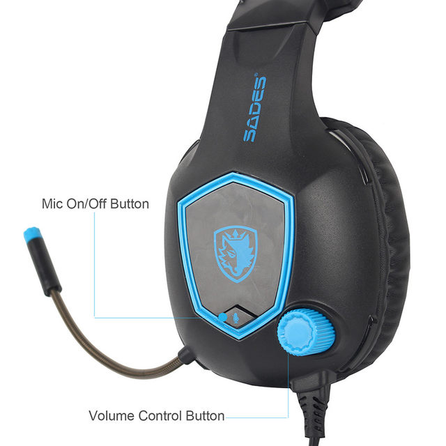 Online Shop SADES SA818 PS4 Gaming Headset Casque PC Gamer ...