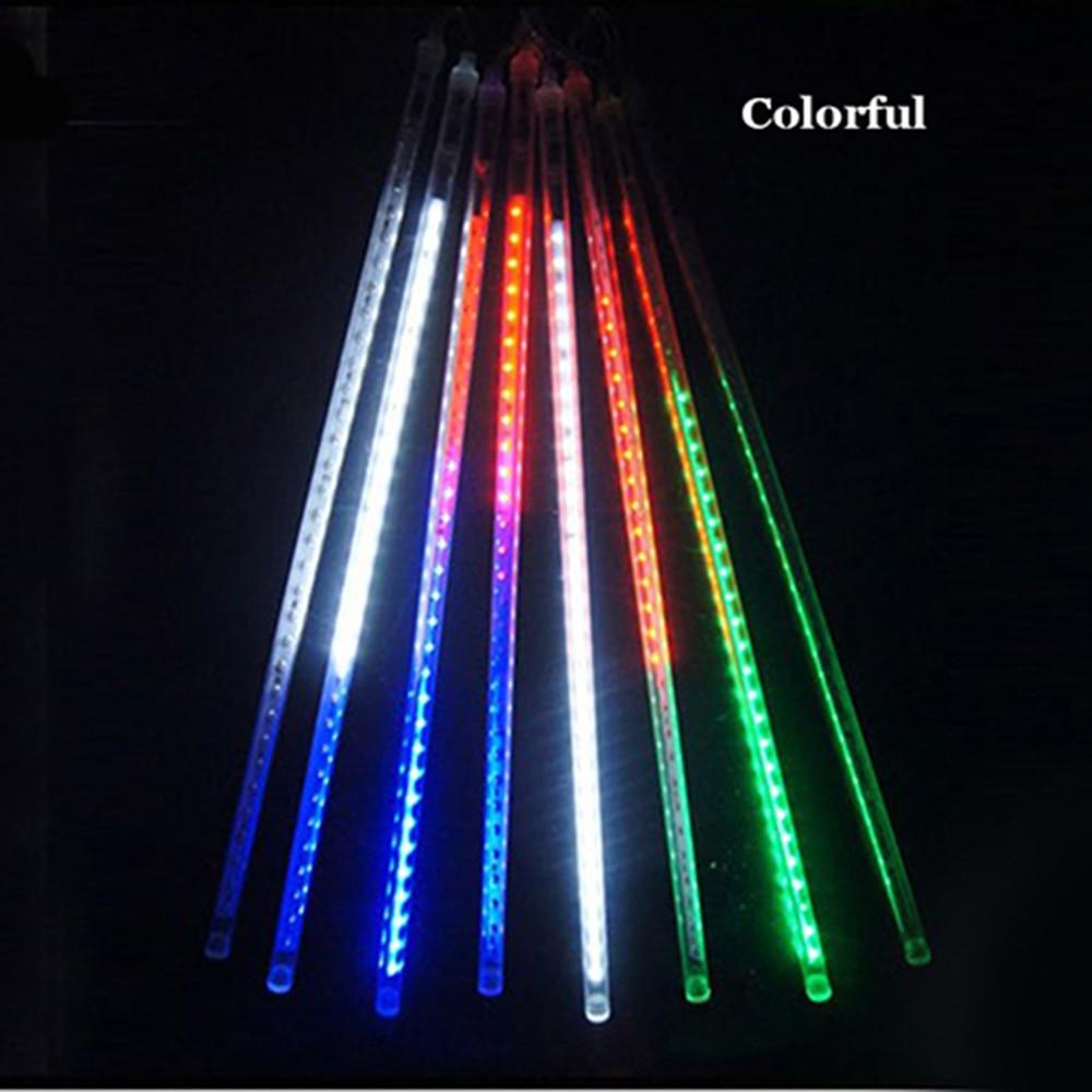 ZINUO 8pcs/Set Led String Lamp 30CM Meteor Shower Rain Tubes LED String Fairy Garland For Wedding Party Garden Xmas String Light