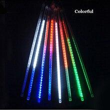 ZINUO 8pcs/Set Led String Lamp 30CM Meteor Shower Rain Tubes LED Fairy Garland For Wedding Party Garden Xmas Light