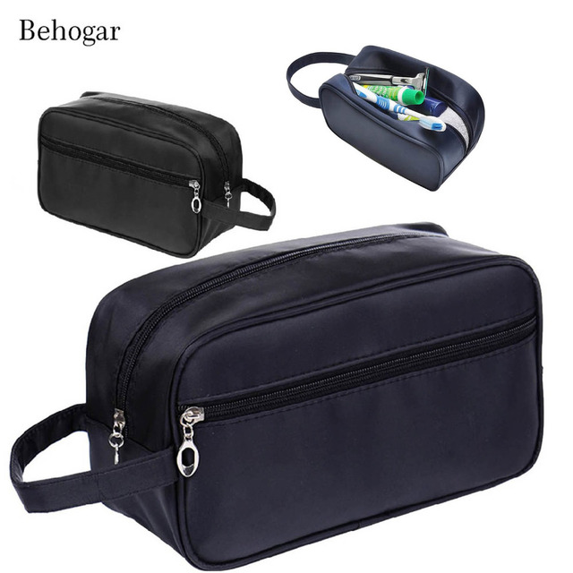 6558e2f24fe5 Behogar Travel Waterproof Big Capacity Unisex Women Men Toiletry Storage Bag  Wash Shaving Makeup Cosmetic Shower Organizer Case