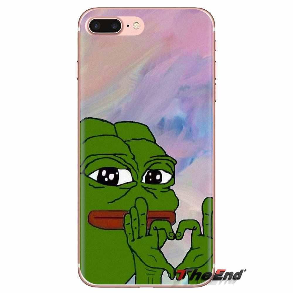 Dành cho Samsung Galaxy Samsung Galaxy J1 J2 J3 J4 J5 J6 J7 J8 Plus 2018 Prime 2015 2016 2017 Yuri Trên Băng ếch Meme Pepe PUBG Điện Thoại Vỏ Có