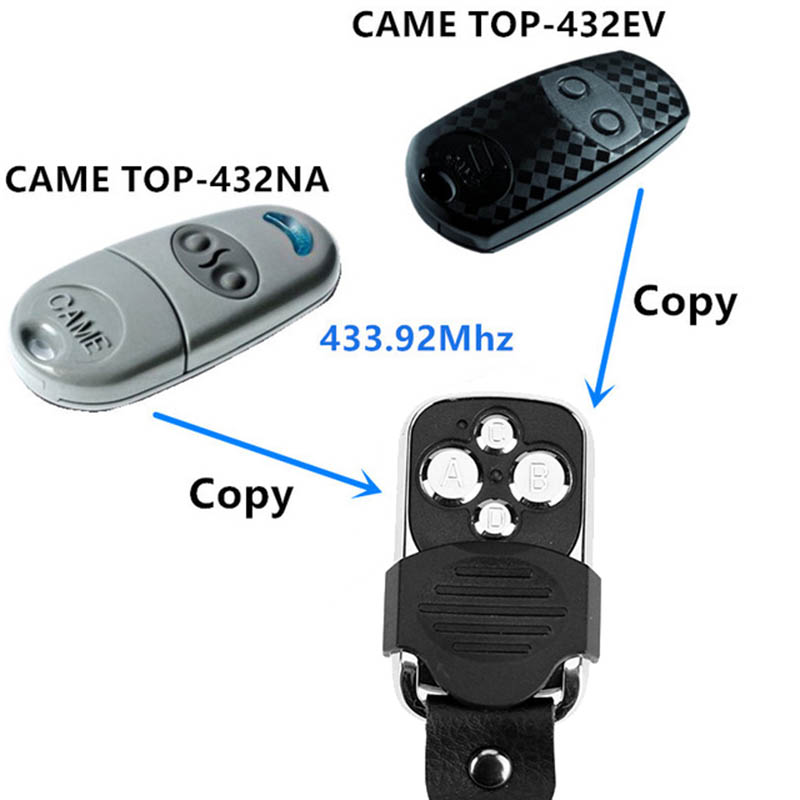 ... CAME remote control TOP 432EV TOP-432NA TOP432NA For Universal. Mouse  over to zoom in be6ece156a5e